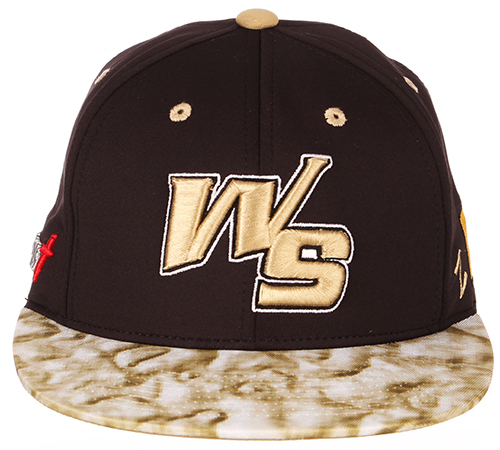 new product 91999 b7831 (808) White Sands Pupfish 2019 Game Hat Length-  25.00 The hats are black  with the Original WS logo in raised Vegas Gold Stitches.